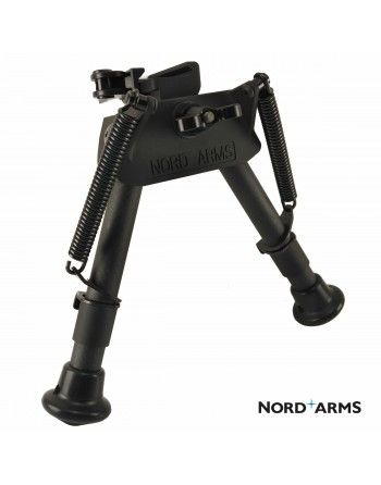 Dvojnožka Nord Arms Type 1 nízká, carbon, QAS