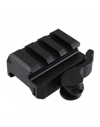 Rychloupínací vložka montáže střední UTG Medium Profile Riser, 3 sloty