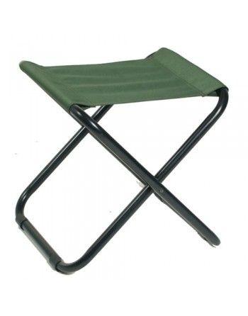 Židle MIL-TEC CAMPING skládací ZELENÁ