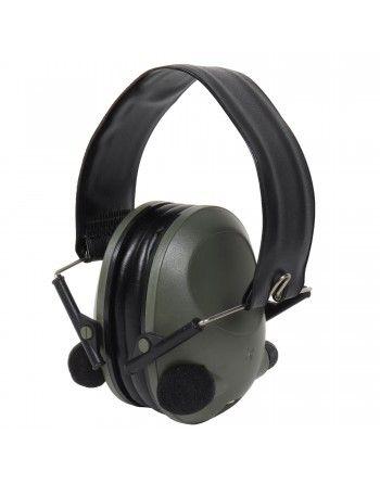 Sluchátka elektronická 101INC ACTIV proti hluku ZELENÁ