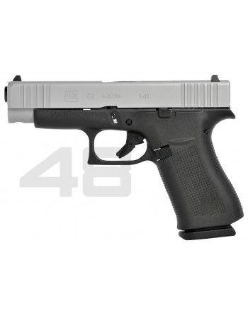 Pistole Glock 48 Silver Slide