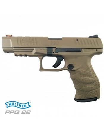 "Pistole Walther PPQ M2 5"" 22LR, FDE"