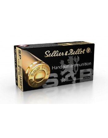 Náboje S&B 9mm LUGER / 9 × 19 - SP 100grs - bal. 50ks