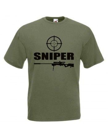 Tričko SNIPER odstřelovač