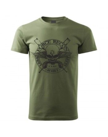 Tričko s potiskem FORCE RECON USMC