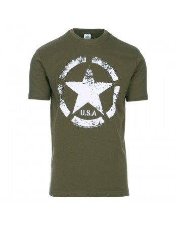 Tričko s potiskem ARMY STAR