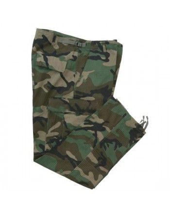 Maskáčové kalhoty U.S. BDU RIP-STOP WOODLAND