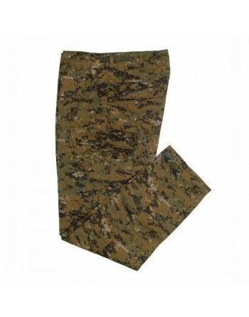 Maskáčové kalhoty DIGITAL WOODLAND MIL-TEC