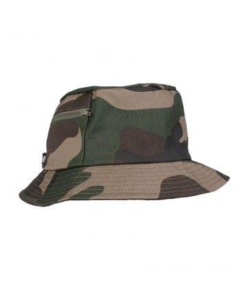 Lovecký klobouk s kapsičkou Woodland