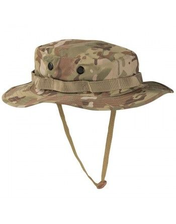 Klobouk WET WEATHER Multicam