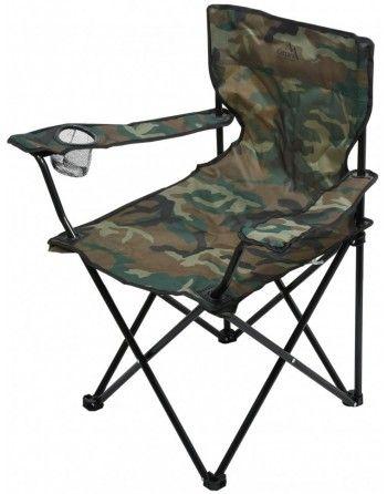 Židle kempingová skládací Cattara BARI ARMY