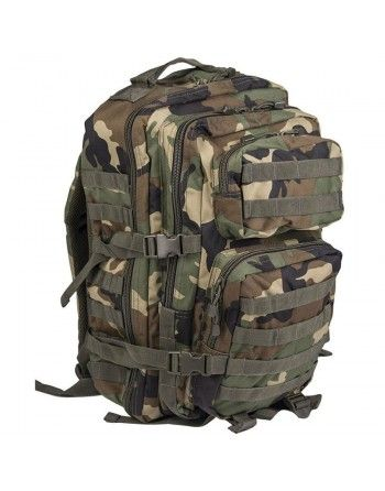 Batoh MIL-TEC US Assault Pack 30l WOODLAND