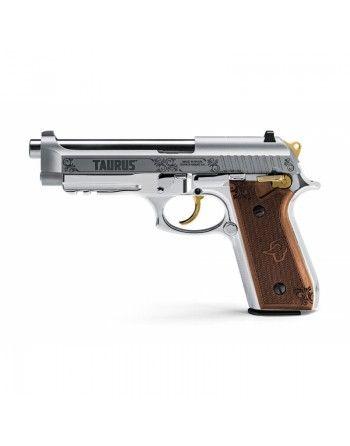 Pistole Taurus PT-92 Limited, 9mm, zdobená, nerez