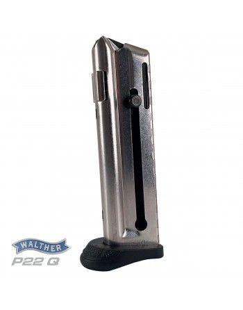 Zásobník Walther P22Q, 10 nábojů, prodloužená patka
