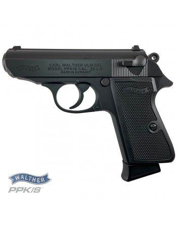 Pistole Walther PPK/S .22LR, černá