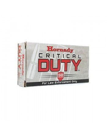 Náboje Hornady, Critical Duty LE, 9mm Luger+P, 124gr, Flex Lock Duty - Bal. 50ks