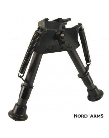 Dvounožka Nord Arms Type1 nízká, carbon, integrovaná montáž