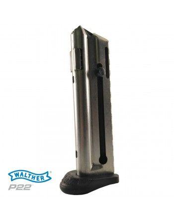 Zásobník Walther P22, 10 nábojů, prodloužená patka
