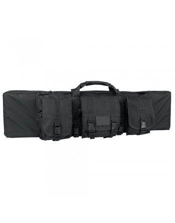 Taška na pušku 105 cm se 3 kapsami a popruhem