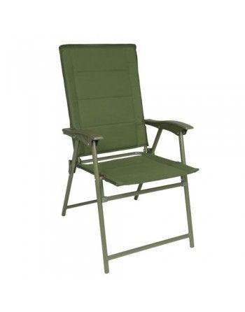 Židle MIL-TEC ARMY skládací ZELENÁ