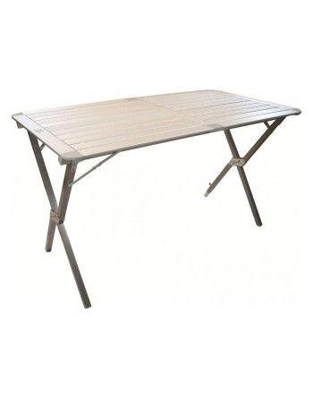 Stůl HIGHLANDER rozkládací ALU s nůžkovou konstrukcí