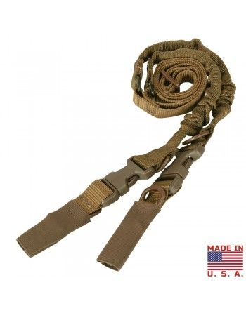 Popruh zbraňový US CBT BUNGEE COYOTE BROWN