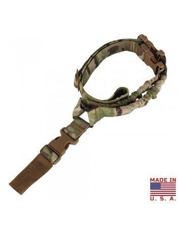 Popruh zbraňový US COBRA jednobodový MULTICAM