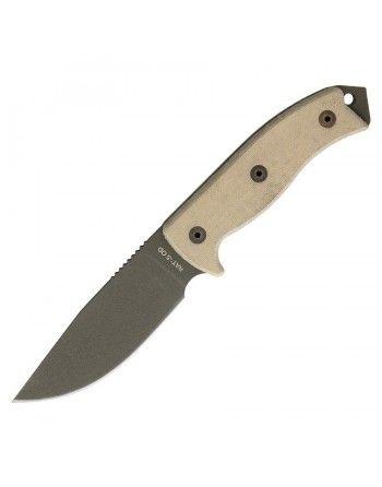Nůž s pevnou čepelí RAT-5 s pouzdrem hl. ostří GREEN