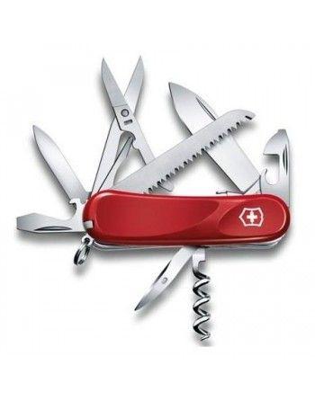 Nůž kapesní Evolution S17 85mm ČERVENÝ