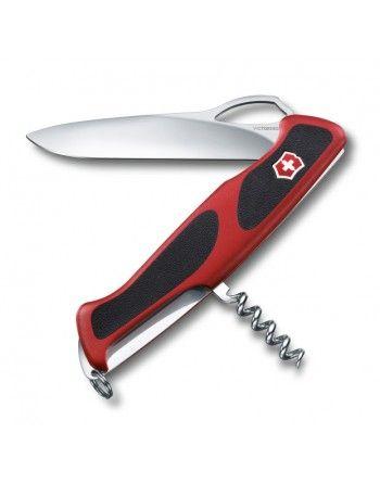 Nůž kapesní RangerGrip 63 130mm ČERVENÝ