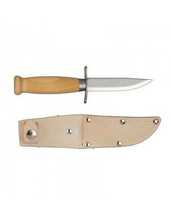 Nůž MORA SCOUT 39 NATURAL + kožené pouzdro