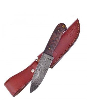 Nůž CHISELED damašková ocel