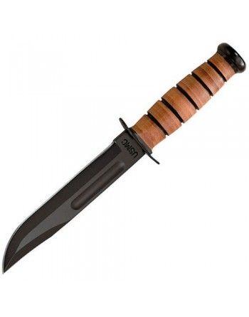 Nůž USMC rovný ČERNÝ