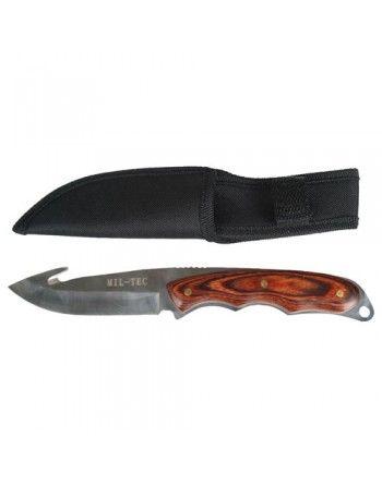 Nůž do auta MIL-TEC dřevěná střenka
