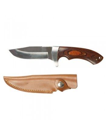 Nůž lovecký s dřevěnou...