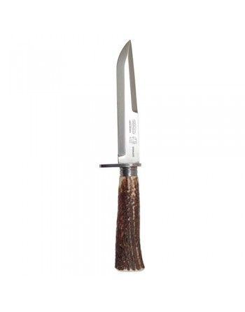 Nůž lovecký NEREZ s pevnou čepelí střenka PAROH