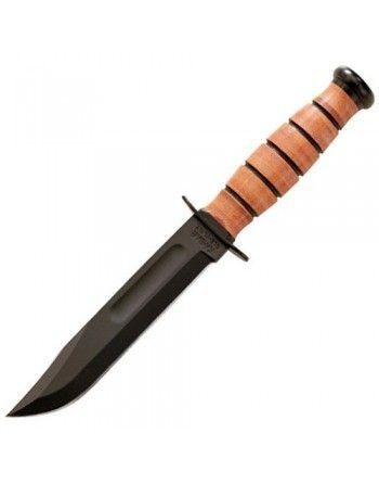Nůž U.S.NAVY hladké ostří ČERNÝ