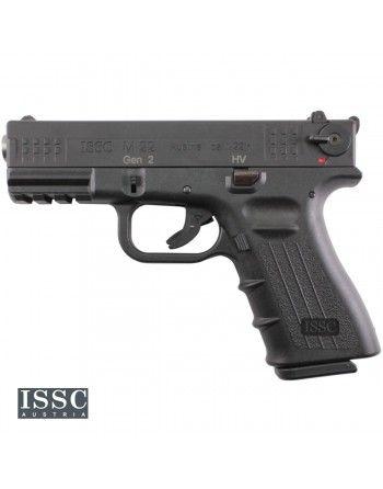 """Pistole ISSC M22 4"""" 22LR HV, pistole samonabíjecí, černá"""