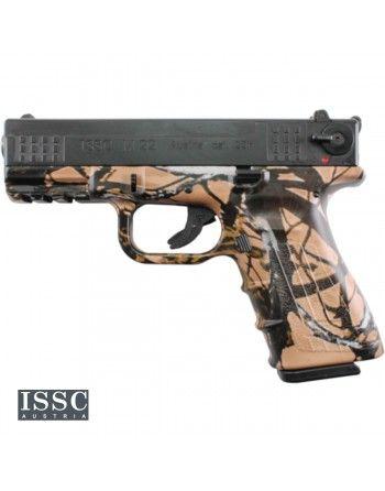 """Pistole ISSC M22 4"""" 22LR HV, pistole samonabíjecí, outshine"""