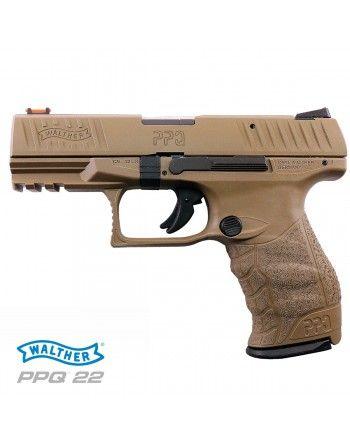 Pistole Walther PPQ M2, 4'', FDE ráže 22LR