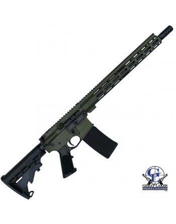 Puška Great Lakes Firearms AR-15, 223 Wylde, O.D. Green