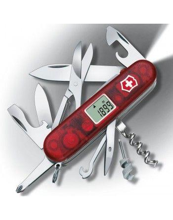 Nůž kapesní TRAVELLER LITE 91mm ČERVENÝ transparentní