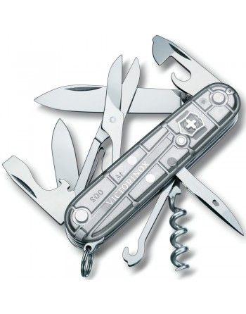 Nůž kapesní CLIMBER 91mm STŘÍBRNÝ transparentní