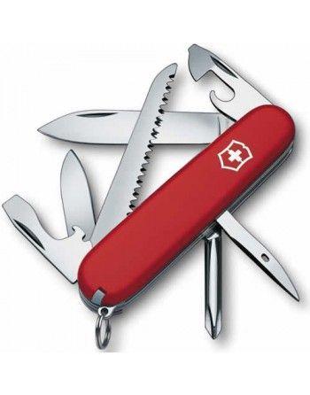 Nůž kapesní HIKER 91mm ČERVENÝ