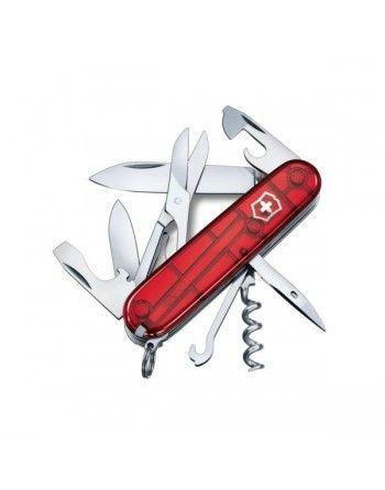 Nůž kapesní SPARTAN 91mm ČERVENÝ transparentní