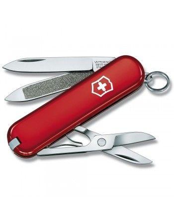 Nůž kapesní CLASSIC 58mm ČERVENÝ