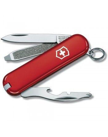 Nůž kapesní RALLY 58mm ČERVENÝ