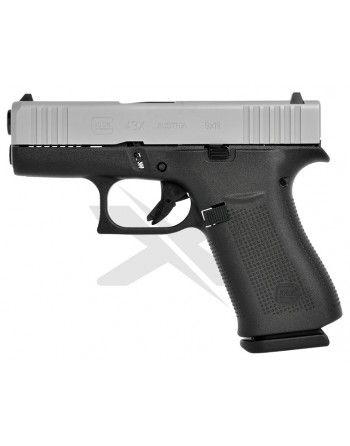 Pistole Glock 43X Silver Slide