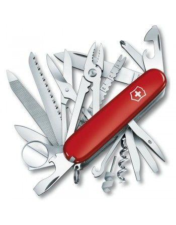 Nůž kapesní SWISSCHAMP 91mm ČERVENÝ