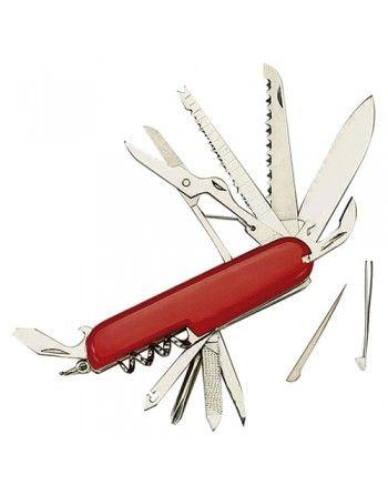 Nůž zavírací RED SWISS ARMY 14 funkcí